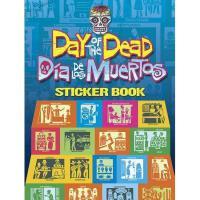 【预订】Day of the Dead/Dia de Los Muertos Sticker Book