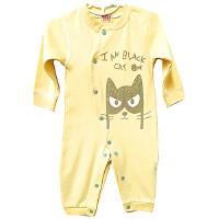婴儿连体衣服儿童长袖哈衣新生儿爬服宝宝内衣