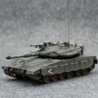 手拼装坦克模型 仿真1/35以色列梅卡瓦3D型主战坦克(需要自己拼装) +胶水+工具
