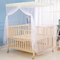 双胎婴儿床三胞胎双胞胎婴儿床拼接大床宝宝bb双人新生儿童床实木无漆多功能