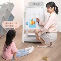 得力儿童画板磁性写字板可擦无尘小黑板支架式家用幼儿宝宝涂鸦板