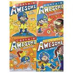 英文原版 The Captain Awesome Collection A MI-TEE Boxed Set 异能船长