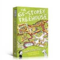 英文原版The 65-Storey Treehouse小屁孩树屋历险记 65层树屋 插图漫画章节故事书 小学生英语课外