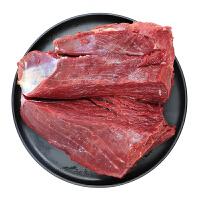 农谣 鹿肉 新鲜鹿肉 *肉 非驴肉东北特产 真空包装 野味 1000g 生鲜肉烧烤食材