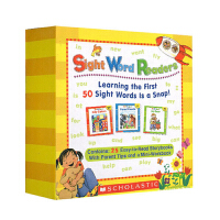 25册 高频词 常见字绘本 Sight word Words Readers 家长指导套装 启蒙入门词汇学习 无CD