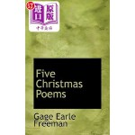 【中商海外直订】Five Christmas Poems