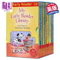 【中商原版】HUK Early?Reader?Slipcase(30books) 哈榭少儿早期阅读桥梁书30本彩色套装