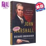 【中商原版】约翰・马歇尔传记 英文原版 人物传记 John Marshall: The Man Who Made th