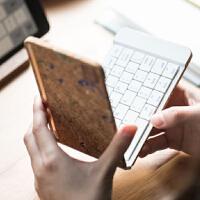 折叠式无线蓝牙键盘苹果安卓手机平板通用型便携