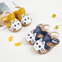 夏天宝宝凉鞋男女童鞋子月婴儿学步凉鞋