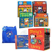 【中商原版】Maisy Swimbag小鼠波波本册套装少儿童绘本 Maisy Swimbag 小鼠波波 名家绘本 立体书