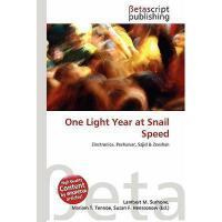 【预订】One Light Year at Snail Speed