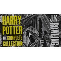 哈利波特英文原版The Complete Harry Potter Collection 《哈利-波特1-7全集》(英国木刻封面版) ISBN9781408850756