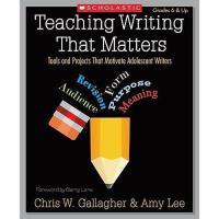 【预订】Teaching Writing That Matters: Tools and Projects