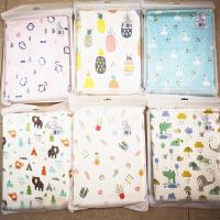 宝宝儿童垫夏季薄 婴儿隔尿垫可洗大号透气纱布棉