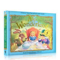【全店300减100】英文原版 Alice in Wonderland: Pop-Up Sound Book 爱丽丝梦游