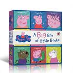 英文原版 Peppa Pig A Big Box of Little Books 小猪佩奇粉红猪小妹 小小手掌书 9本