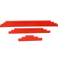 红色数长棒2-5岁儿童数学启蒙早教玩具