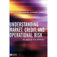 【预订】Understanding Market Credit And Operational Risk -