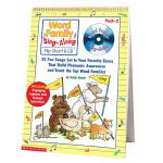 Scholastic 学乐 Word Family Sing Along Flip Chart Preak-2 附CD