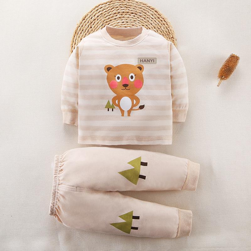 婴儿内衣套装春秋衣服夏装保暖衣男女宝宝秋衣秋裤