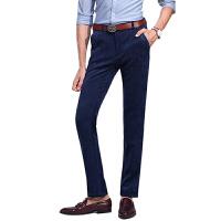 1号牛仔 男士商务休闲裤新款时尚简男长裤
