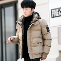 棉衣男士冬季外套加厚短款韩版潮流羽绒学生2018新款冬装袄子