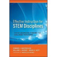 【预订】Effective Instruction For Stem Disciplines: From