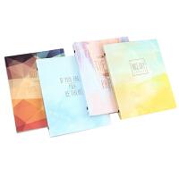 道林新品活页本 B5 /A5 活页本彩色密语 可爱学生塑料夹横线内页活页笔记本 单本装