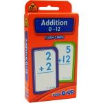 【加法0-12】School Zone Flash Cards Addition 0-12 英文原版 儿童早教入学准备