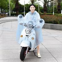 电动车雨衣雨披透明雨衣自行车雨衣雨披雨衣