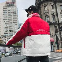工装棉衣男士冬季外套情侣棉袄2018潮流新款羽绒韩版学生