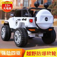 儿童电动车四轮1-3带遥控充电越野车4-5岁汽车男孩宝宝玩具可坐人