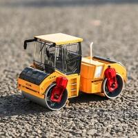 合金工程车双钢轮压路机金属压路车儿童玩具小汽车模型 凯迪威压路机