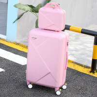 kuansen行李箱ins网红抖音潮20旅行箱24寸大学生男女拉杆箱子母皮箱韩版