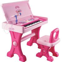 小孩宝宝大钢琴 6-15岁儿童大电子琴女孩玩具学习桌早教音乐
