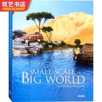 SMALL SCALE BIG WORLD 袖珍微缩艺术 手工模型制作书籍