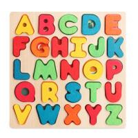 弥鹿MiDeer数字母男孩女宝宝拼图幼儿童早教智力玩具积木2-3-5岁