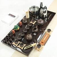 陶瓷紫砂玻璃茶具四合一家用茶盘配件茶具套装整套