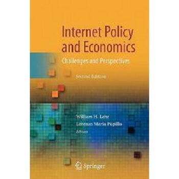 【预订】Internet Policy and Economics: Challenges and 美国库房发货,通常付款后3-5周到货!