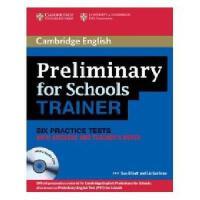 【预订】Preliminary for Schools Trainer Six Practice Tests Y9780