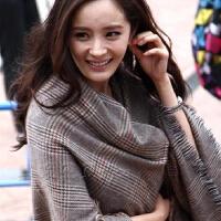 冬天毛线针织女士围巾女冬季韩版百搭英伦保暖软妹长款可爱学生脖