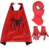 20180527101618114万圣节儿童节cosplay动漫面具蜘蛛侠头罩头套面罩眼罩服装