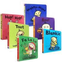 小毛孩英文原版 名家Leslie Patricelli系列6本套装 幼儿启蒙纸板书 宝宝好习惯培养 亲子阅读s Qui