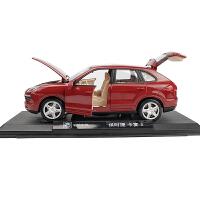 越野车合金车模 1:24仿真SUV汽车模型摆件彩珀原厂保时捷卡宴