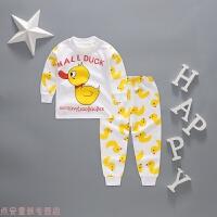 冬季6-7-9个月婴儿套装男女宝宝秋衣秋裤1到2岁3-4岁儿童贴身内衣秋冬新款