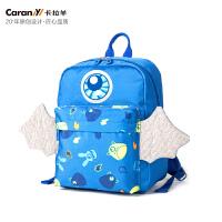卡拉羊儿童书包幼儿园女3-4岁幼儿小书包宝宝背包1-3岁减负双肩包