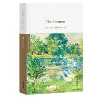 正版全新 The Sonnets 莎士比亚十四行诗(全英文原版,精装珍藏本)