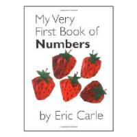 英文原版儿童书 My Very First Book of Numbers 《我的本数字书》艾瑞-卡尔(《好饿的毛毛虫
