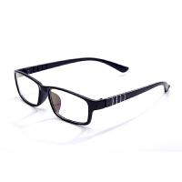 防辐射眼镜女男款无度数平面平光镜防蓝光眼睛上网护目镜舒适简约